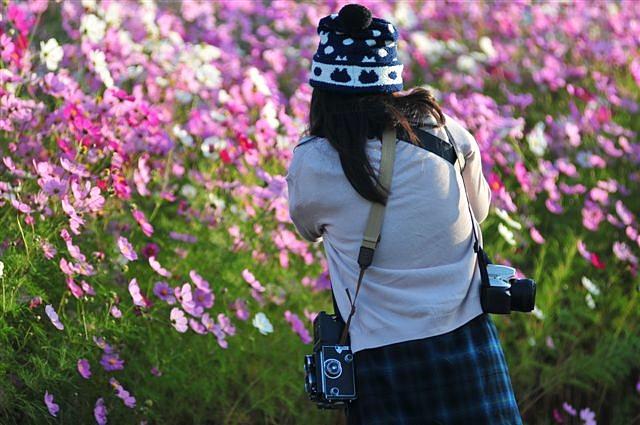 花園の華 ~カメラ女子~ (1)
