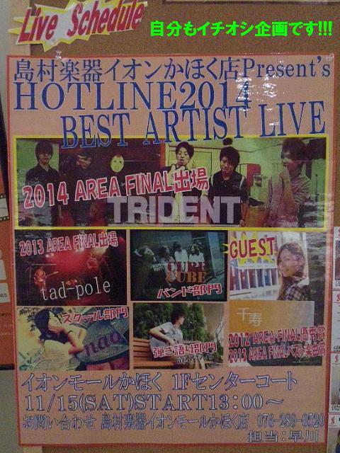 HOTLINE2014 ベストアーティストライブ (3)