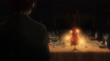 顔が見えないディナー