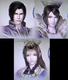 魏・曹丕、甄姫、蔡文姫