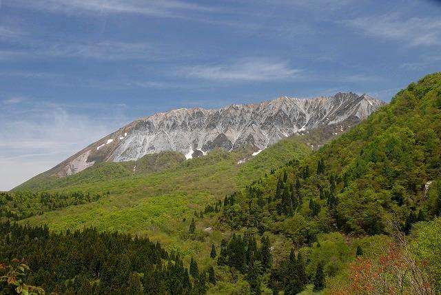 鍵掛け峠からの大山1