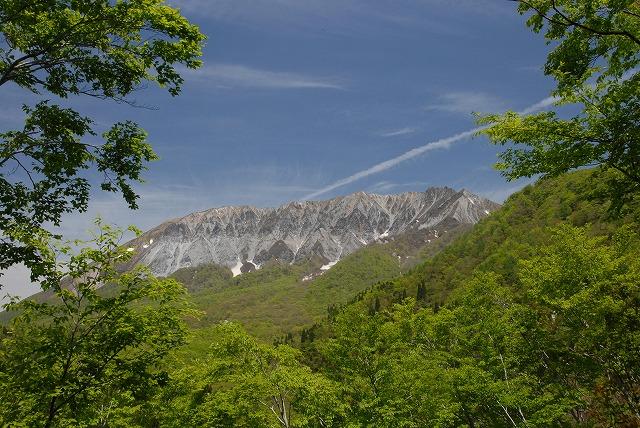 鍵掛け峠からの大山2