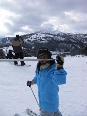 長女スキー