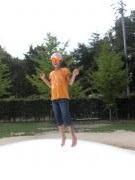 長女ジャンプ