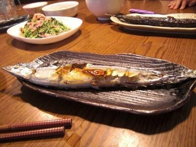 秋は秋刀魚