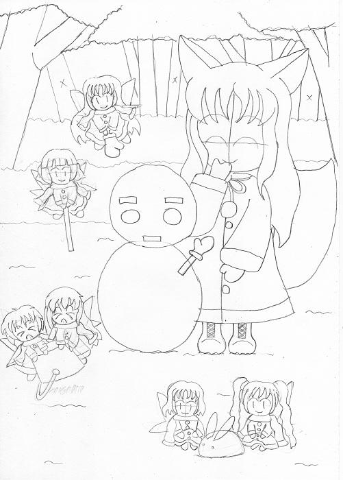 秘密の森の住人~冬~〔仮〕3