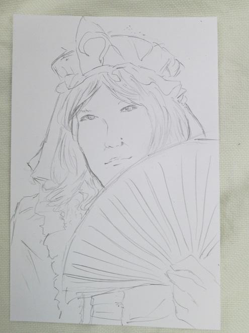 「「アズと人気絵師」展」の5日目8