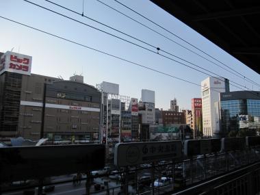 名駅の眺め