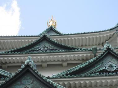 名古屋城屋根②
