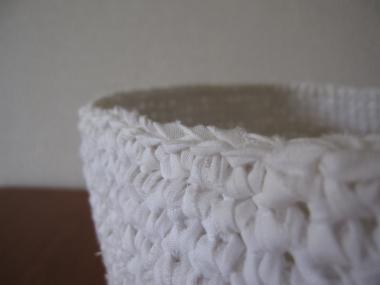 裂き編みの経過 アップ!