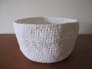裂き編みの経過