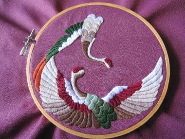 一羽の2翼