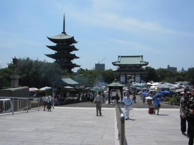 日泰寺の夏