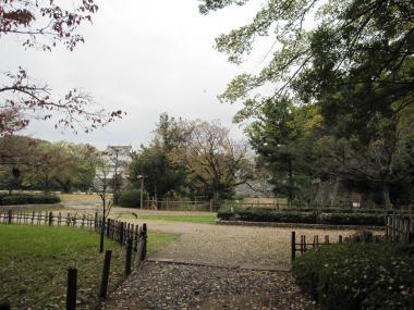 名古屋城の庭