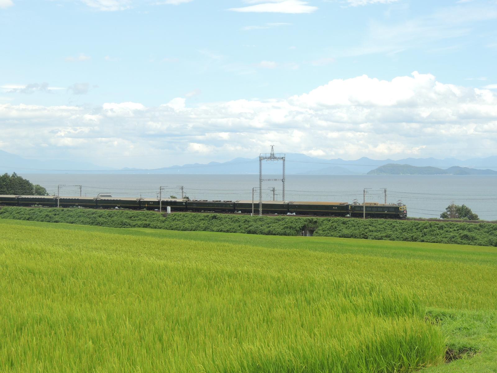 トワイライトエクスプレス 志賀~蓬莱 (2)