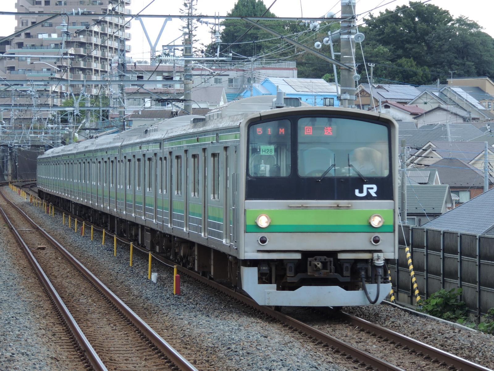 205系H28疎開返却 新松戸 (4)