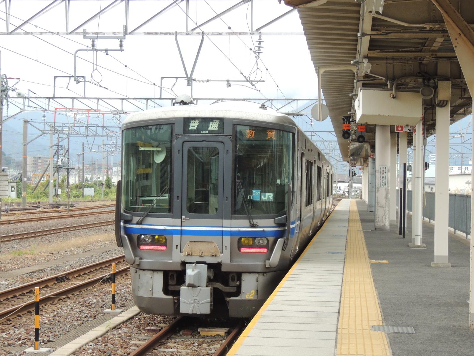 521系幌付き 敦賀 (1)