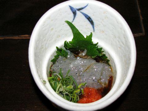 どろめ(いわしの稚魚)
