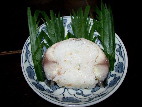 皿鉢料理の鯖寿司