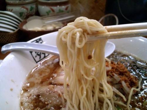 ばりきや麺