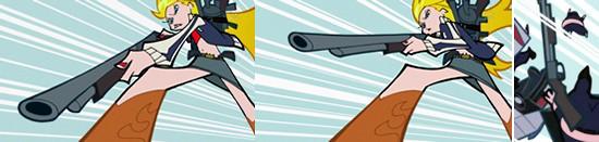 「パンティ&ストッキングwithガーターベルト」の第2話『デスレース2010』