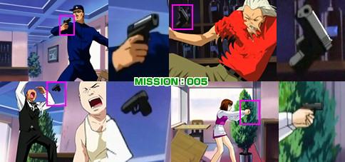 ナジカ電撃作戦 MISSION:005 リカルドの部下の銃