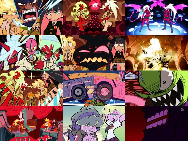 パンティ&ストッキングwithガーターベルト 第11話「悪魔のような女たち」