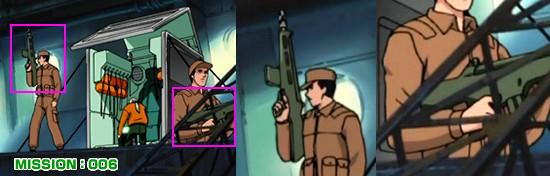 ナジカ電撃作戦 CRI社の社員のライフル