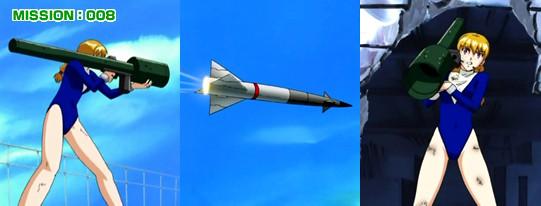 ナジカ電撃作戦 対空ミサイルランチャー MISSION:008