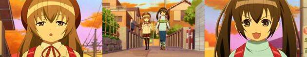 みなみけ(アニメ1期) 第7話『いろいろな顔』 B2パート 小学時代のカナ