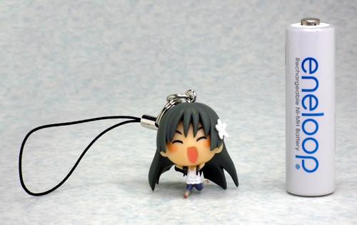 「とある科学の超電磁砲」 根付ストラップ 佐天涙子 (電撃大王2011年1月号付録)