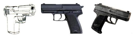 ヘッケラー&コッホ P10 (USP COMPACT)