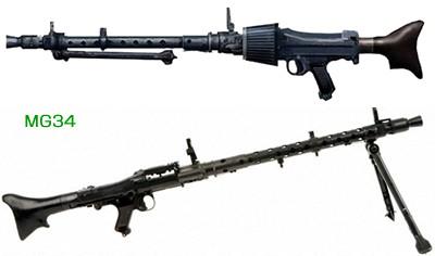 ラインメタル MG34