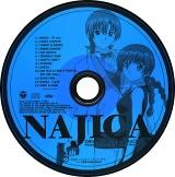 「ナジカ電撃作戦」サウンドトラック NAJICA ORIGINAL SOUNDTRACK DISCレーベル