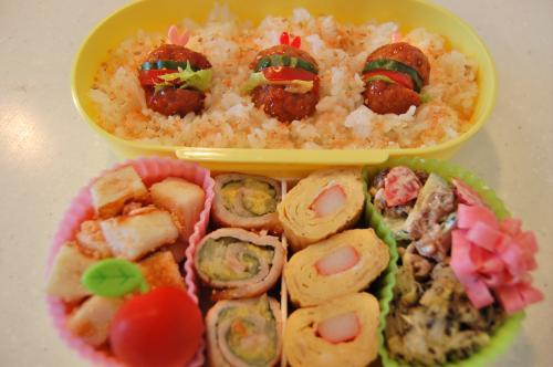 2010年5月21日のお弁当。