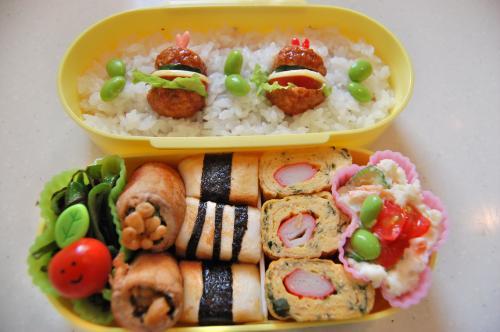 2010年6月4日のお弁当。