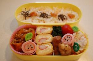 2010年4月20日のお弁当。