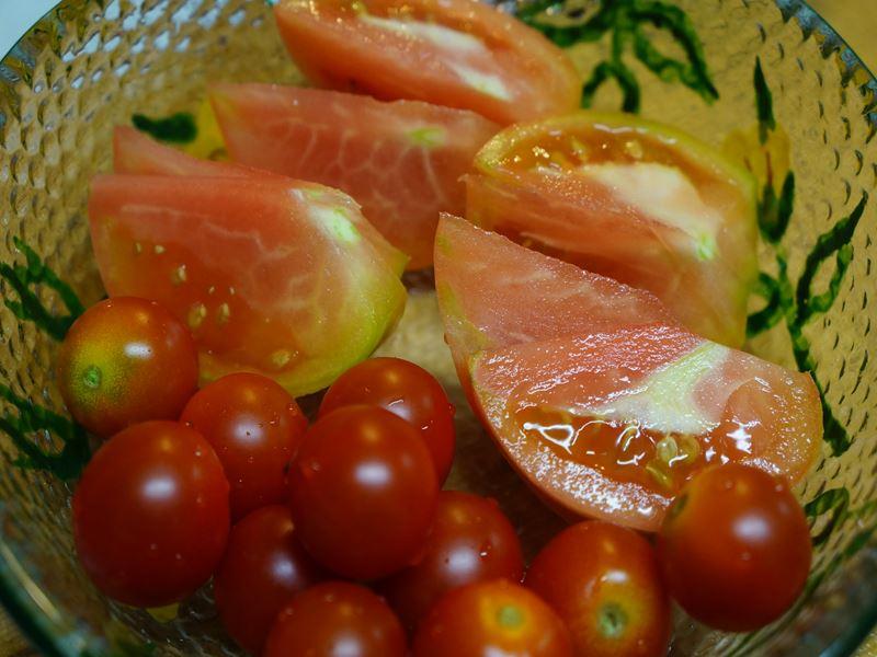 自家製のトマト