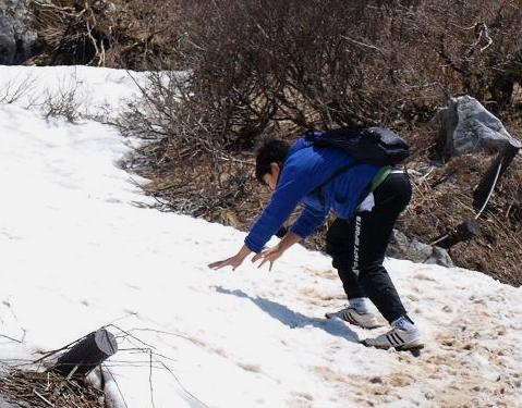 雪渓 093