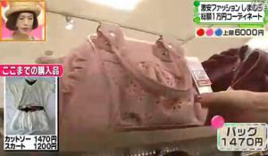 道重さゆみ、ピンクのバッグ