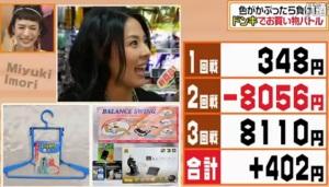 ランキング3位、井森美幸