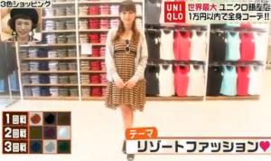 渡辺美奈代のテーマ「リゾートファッション」