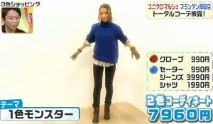 鈴木紗理奈のテーマ「1色モンスター」