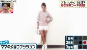 中林美和のテーマ「ママの公園ファッション」