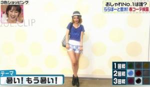鈴木紗理奈のテーマ「暑い!もう暑い!」