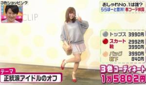 菊地亜美のテーマ「正統派アイドルのオフ」