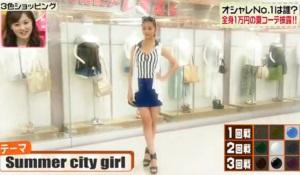 高橋メアリージュンのテーマ「Summer city girl」