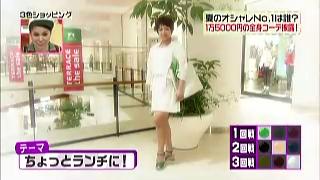 堀ちえみのテーマ「ちょっとランチに!」