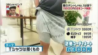 鈴木紗理奈のテーマ「Tシャツは履くもの」