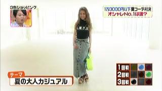 くみっきーのテーマ「夏の大人カジュアル」